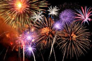 Fireworks and CBD